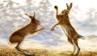 Easter Bunnies And Hares
